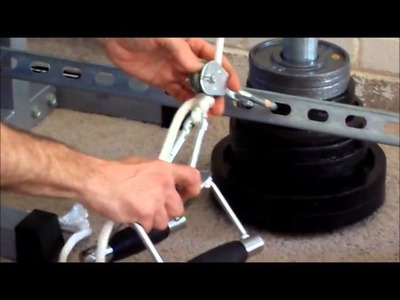 DIY Low Pulley Cable Row