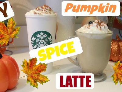 DIY Pumpkin Spice Latte ! Starbucks Fall Drink !