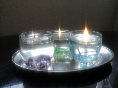 Diy Water Candles to add more positive energy to your home