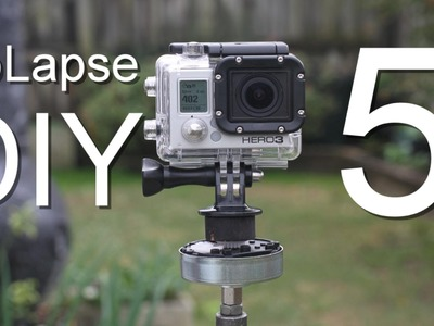 GoLapse DIY Part 5 - How To Make A GoPro Time-Lapse Panning Unit