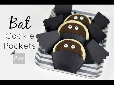 Halloween Bat Cookie Pockets | Sizzix DIY Parties & Events