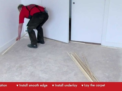 How To Lay Carpet - DIY At Bunnings
