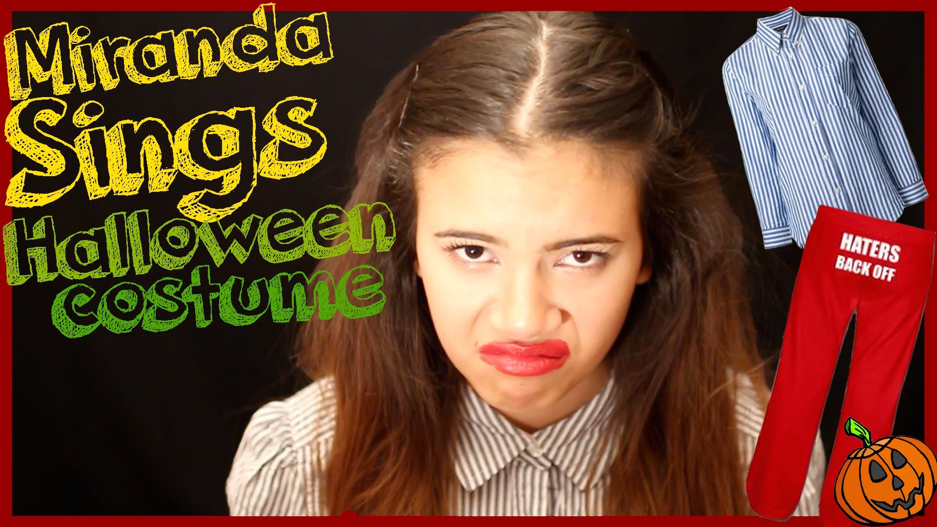 How To: MIRANDA SINGS HALLOWEEN COSTUME DIY
