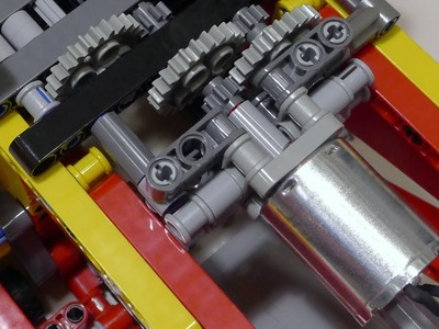 LEGO Motor DIY Part 2: Power Functions Demonstration