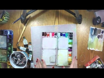 Make a DIY Watercolor Travel Kit