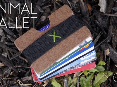 Mini MOD Monday: DIY Minimalist Wallet