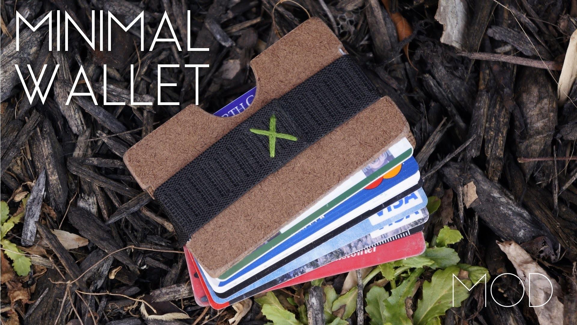 Mini MOD Monday: DIY Minimalist Wallet