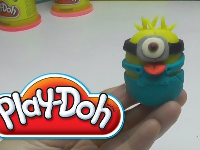 Minion -  How to make with PLAY DOH DIY