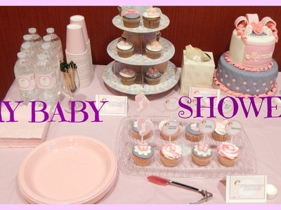 My Baby Shower D.I.Y Details & Decor (Talk through)