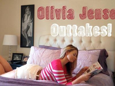 Olivia Jensen DIY Distress Jeans - Bonus Outtakes