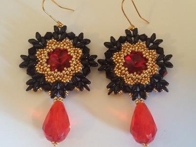 Orecchini Flamenco (DIY - Flamenco Earrings)