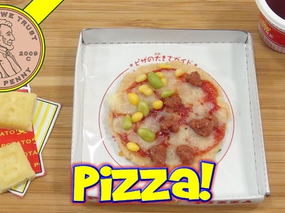 Pizza DIY Japanese Kit, Kracie Happy Kitchen Poppin' Cookin'