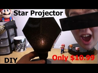Review DIY Planetarium Star Celestial Projector Lamp Night Sky Light Romantic Gift