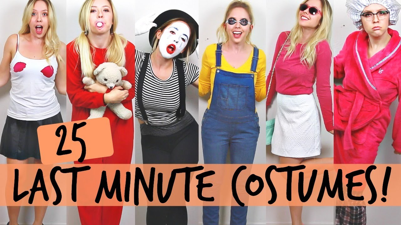 25 DIY Halloween Costume Ideas | Ashley Nichole