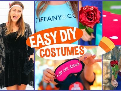 5 DIY Last Minute Halloween Costumes!