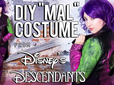 Disney Descendants – Mal DIY Costume Tutorial