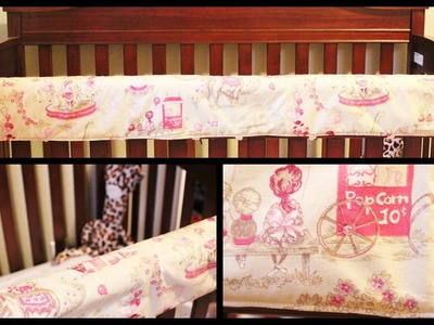 DIY Crib Rail Cover - Whitney Sews