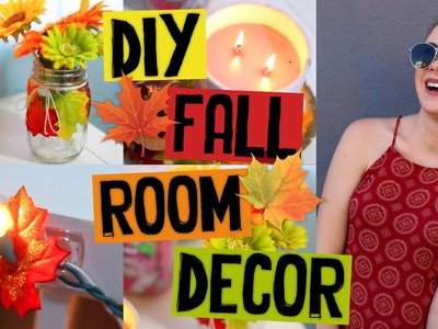DIY FALL ROOM DECOR! Easy & Afforable DIY Ideas for Fall 2015. Jill Cimorelli
