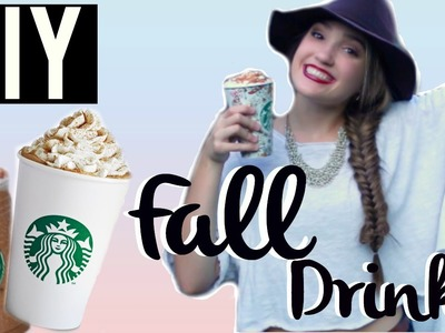DIY Fall Starbucks Drinks 2015!!