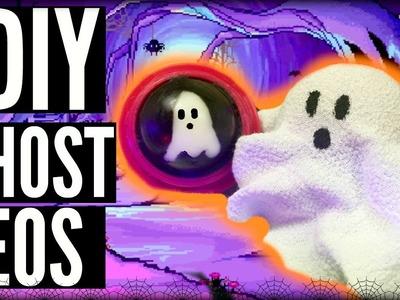 DIY GHOST EOS! | DIY HALLOWEEN EOS LIP BALM - 2 WAYS!
