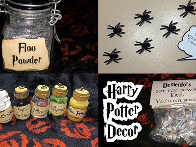DIY Harry Potter Halloween decor