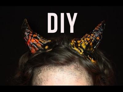 DIY: Lava Horns
