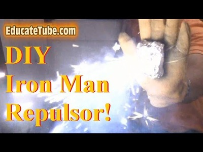 DIY Real Iron Man Repulsor-  My cool and awesome invention!