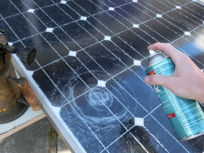 DIY Repair Cracked Solar Panels
