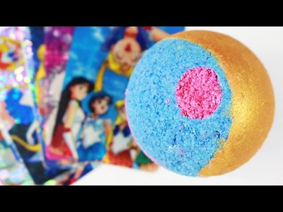 DIY Sailor Moon Bath Bomb ☾ *:・゚