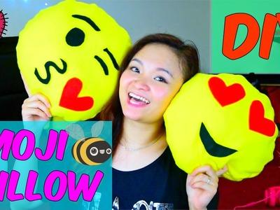 Easy DIY No Sew Emoji Pillows | Làm Gối Emoji Dễ Dàng