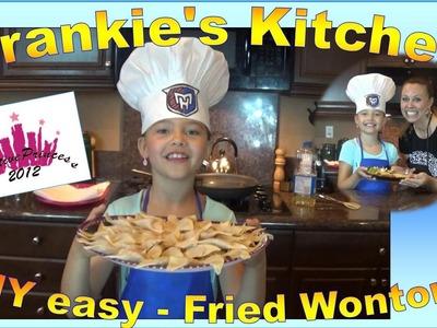 Frankie's Kitchen | 'DIY Fried Wontons' - Creative Princess