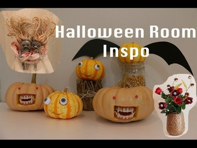 Halloween Room Inspiration & DIY Decor