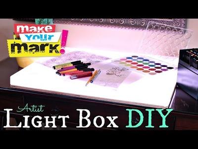 How to: Artist Light Box DIY