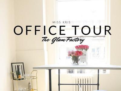 Office Tour + Industrial Pipe Desk DIY