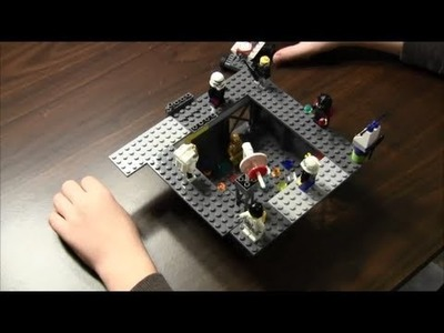 Robber's Hideout - How to build with Legos