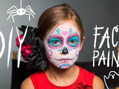 Sugar Skull - DIY Face Paint