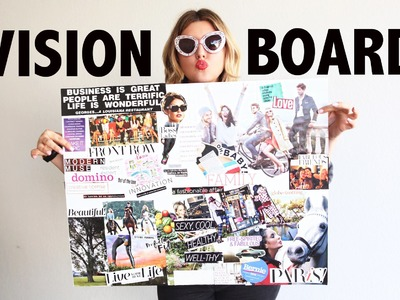 Vision Board DIY & The Law of Attraction