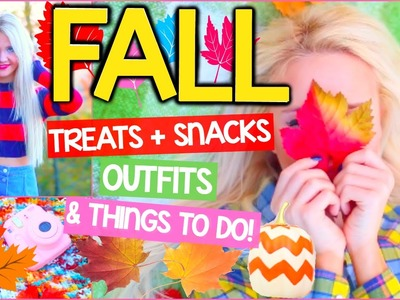 What to do when you're bored: in Fall! DIY Fall Treats + Snacks & Fun Things To Do!