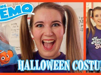 DIY Darla Finding Nemo Halloween Costume | BowsByCarolyn