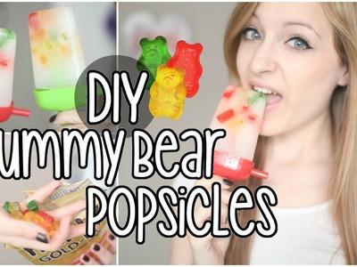DIY | Gummy Bear Popsicles