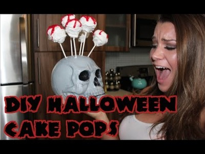 DIY: HALLOWEEN CAKE POPS