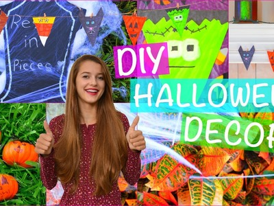 DIY Halloween Party Decor! ♡ 2015! | Tatiana Boyd