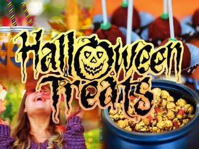 DIY Halloween Treats #fallingintofall. Collab