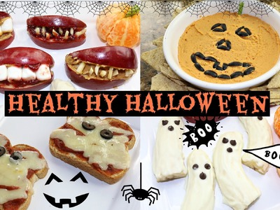 DIY Healthy Halloween Snacks!