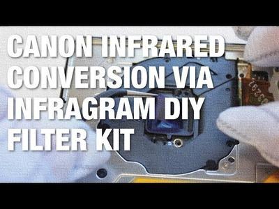 DIY Infrared Canon Powershot Elph Multispectral Camera Conversion Using Infragram Filter Kit