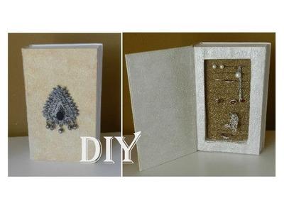 DIY: Jewellery box. Schmuckaufbewahrung