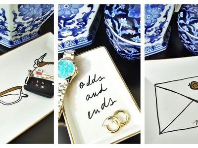 DIY Kate Spade Inspired Trinket Trays