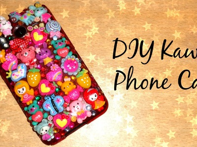 DIY Kawaii Phone Case