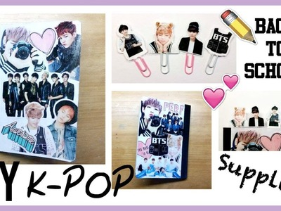 ▼DIY KPOP : Back To School Supplies [Part 1 : Notebook Collage]▼
