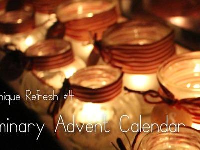 DIY Luminary Advent Calendar